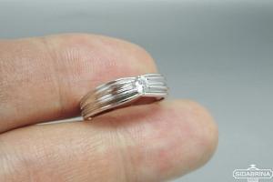 Žiedas su cirkoniu - ZDM1325