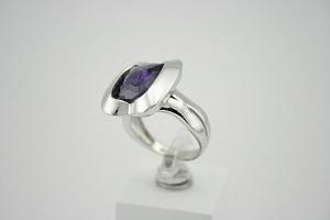 Žiedas su cirkoniu - ZDM119