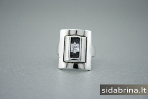 Žiedas su cirkoniu - ZDM258