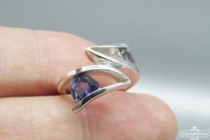 Žiedas su jolitu - ZDM1118