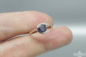 Žiedas su jolitu - ZDM1152