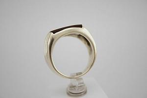 Žiedas su karneoliu - ZDV007