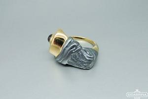 Žiedas su rodolitu - ZDM1224