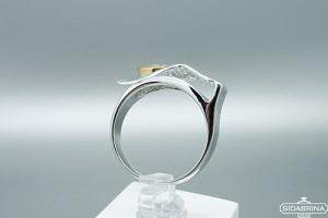 Žiedas su topazu - ZDM1206