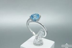 Žiedas su topazu - ZDM1346