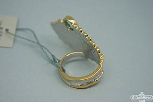 Žiedas su topazu - ZDM419