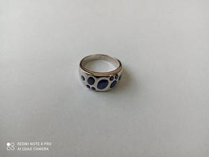 Žiedas su korundu - ZDM1557