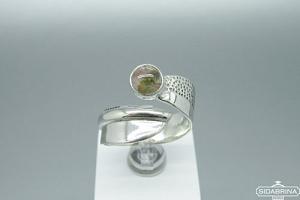 Žiedas su turmalinu - ZDM1402
