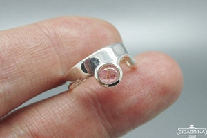 Žiedas su turmalinu - ZDM1427