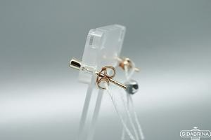 Auksiniai auskarai - AUA081