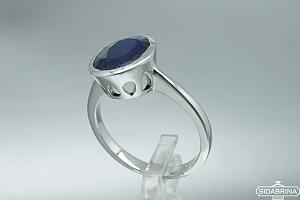 Žiedas su natūraliu akmenimi - ZDM791