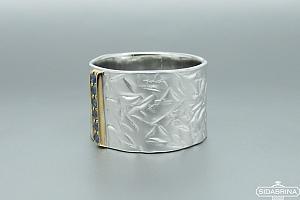 Žiedas su safyrais - ZDM990