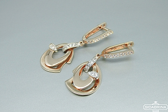 Auksiniai auskarai - AUA070