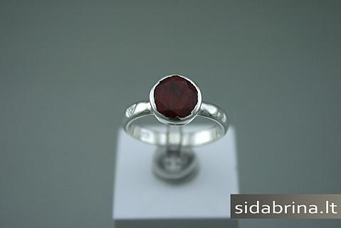 Žiedas su natūraliu akmeniu - ZDM343