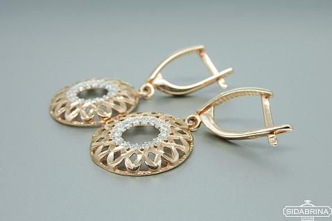 Auksiniai auskarai - AUA047