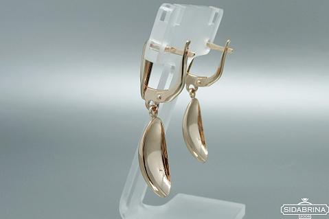 Auksiniai auskarai - AUA056