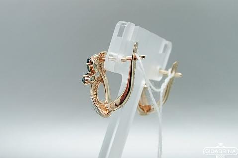 Auksiniai auskarai - AUA067