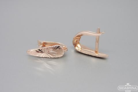 Auksiniai auskarai - AUA089