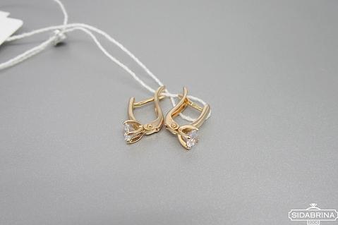 Auksiniai auskarai - AUA156
