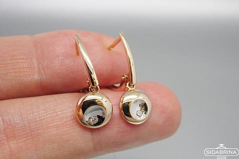 Auksiniai auskarai - AUA167