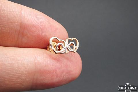 Auksiniai auskarai - AUA168