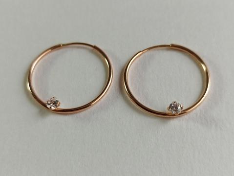 Auksiniai auskarai - AUA178
