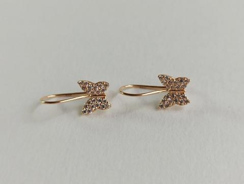 Auksiniai auskarai - AUA179