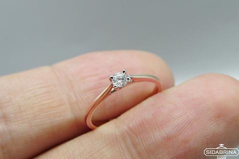Auksinis žiedas - ZDA006