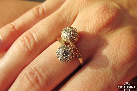 Auksinis žiedas - ZDA021