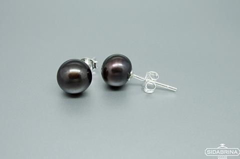 Auskarai su perlais - AUM1708