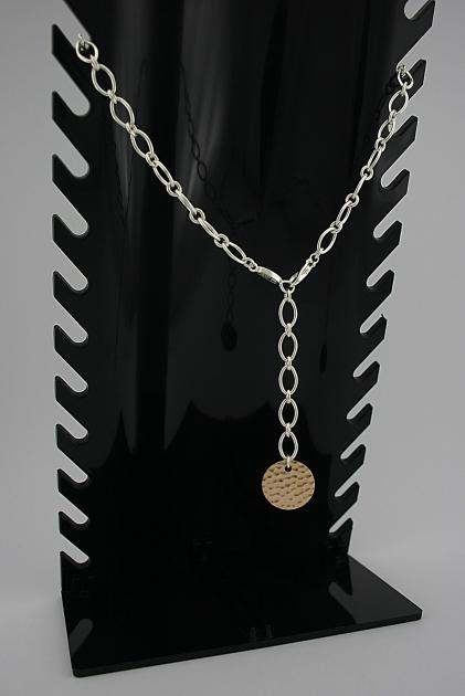 Paauksuotas sidabrinis kolje - KOL003