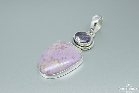 Pakabukas su natūraliais akmenimis - PAM563