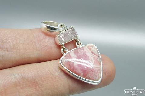 Pakabukas su natūraliais akmenimis - PAM639