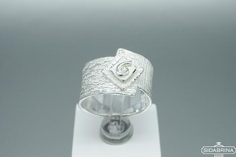 Sidabrinis žiedas - ZDM1373