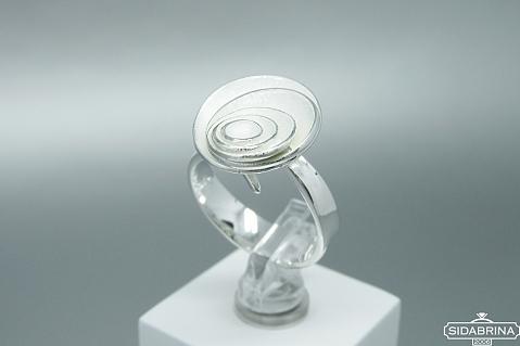 Sidabrinis žiedas - ZDM1384