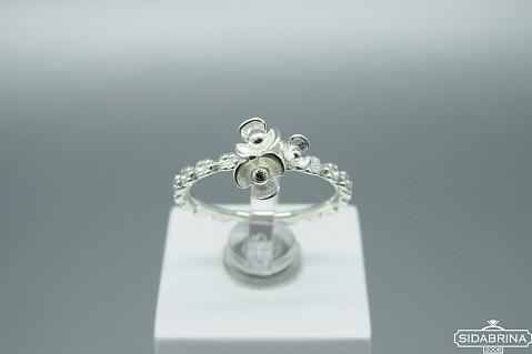 Sidabrinis žiedas - ZDM1386