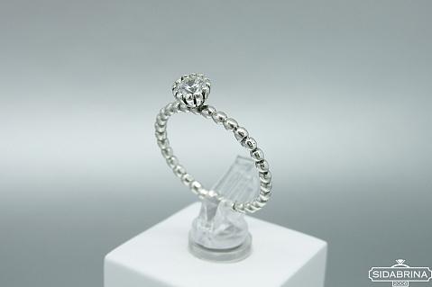 Sidabrinis žiedas - ZDM1392