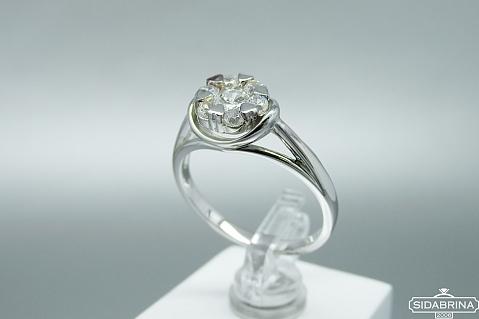 Sidabrinis žiedas - ZDM1433