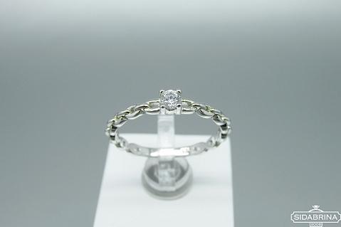 Sidabrinis žiedas - ZDM1434