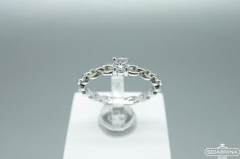 Sidabrinis žiedas - ZDM1435