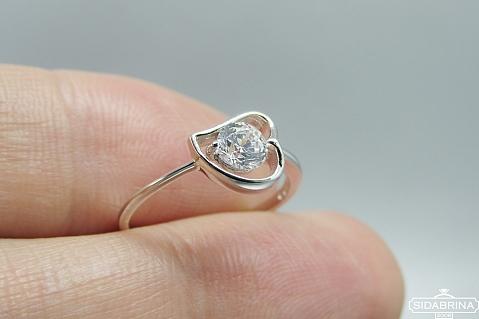 Sidabrinis žiedas - ZDM1445