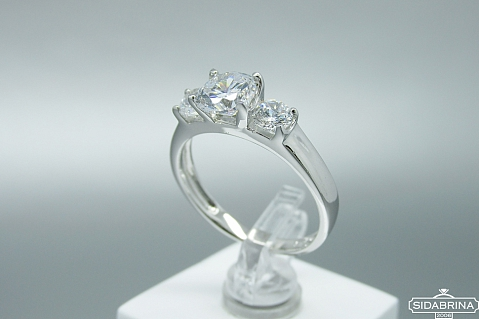 Sidabrinis žiedas - ZDM1453