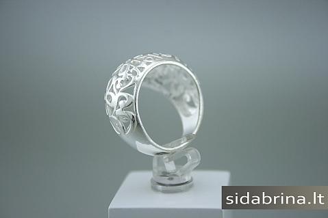 Sidabrinis žiedas - ZDM266