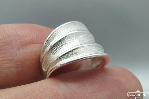 Sidabrinis žiedas - ZDM584