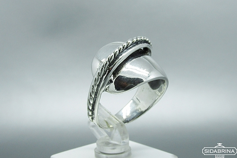 Sidabrinis žiedas - ZDM796