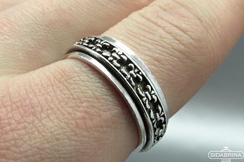 Sidabrinis žiedas - ZDV102