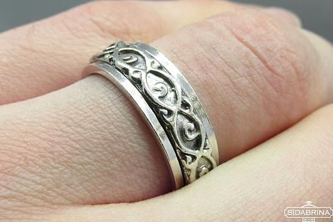 Sidabrinis žiedas - ZDV108
