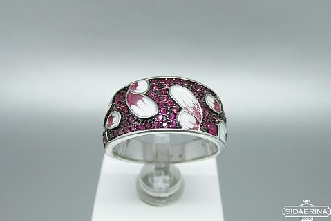Sidabrinis žiedas - ZDM1536