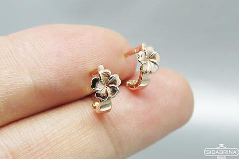 Smulkūs auksiniai auskarai - AUA049