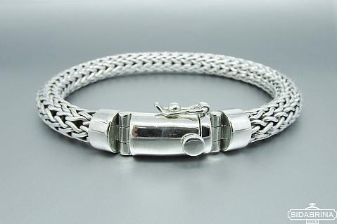 Vyriška sidabrinė apyrankė - APV092